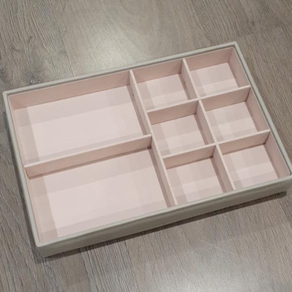 Richards Storage & Organization | Gray And Pink Jewelry Drawer ...